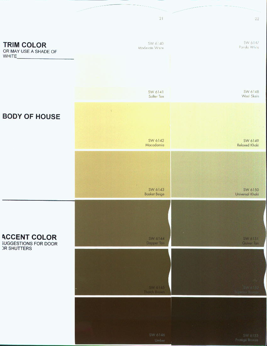 Approved colors for the preserve at rio pinar color chart 5 nvjuhfo Images